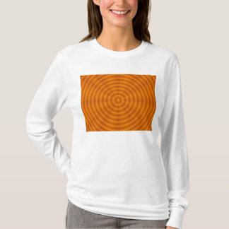 T-shirt Tunnel orange d'oeil par KLM