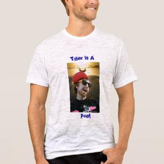 T-shirt Tyler, poète, Tyler est A