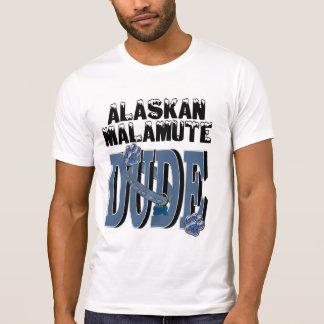 T-shirt TYPE de Malamute d'Alaska