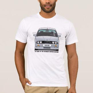 T-shirt Type noir (argenté) d'anniversaire de m3 de BMW