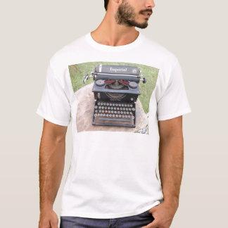 T-shirt Type vintage auteur