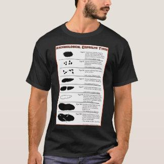 T-shirt Types archéologiques de Coprolite