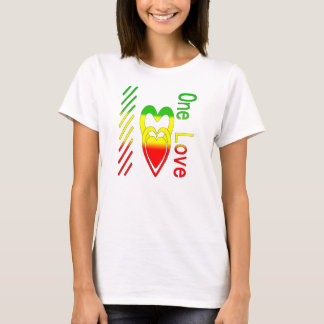 T-shirt Un amour