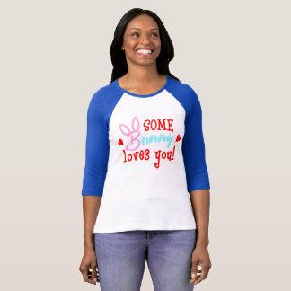 T-shirt Un certain lapin vous aime mignon drôle