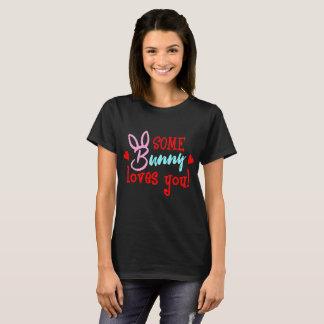 T-shirt Un certain lapin vous aime romantique drôle