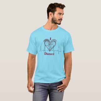 T-shirt Un coeur pour la danse