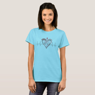 T-shirt Un coeur pour la paix