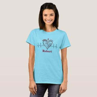 T-shirt Un coeur pour l'amour