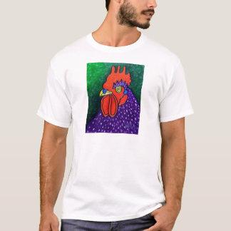 T-shirt Un coq pourpre