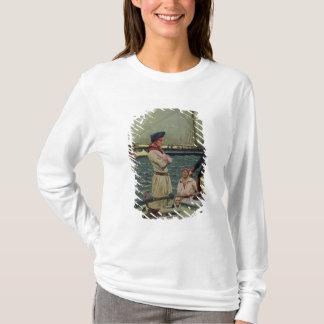 T-shirt Un corsaire américain prenant un prix britannique