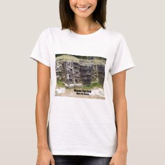 T-shirt Un dieu soleil maya - Altun ha, Belize