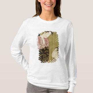 T-shirt Un homme peignant une femme
