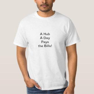 T-shirt Un hub par jour