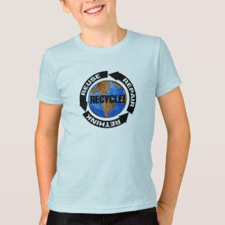 T-shirt Un monde de réutilisation
