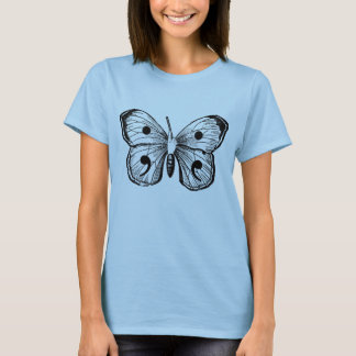 T-shirt Un papillon magique avec des inscriptions de