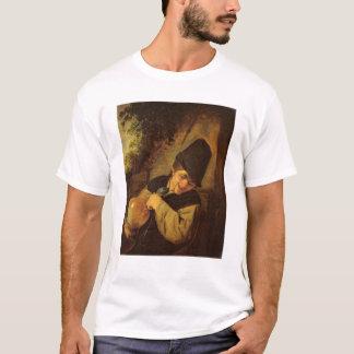 T-shirt Un paysan tenant une cruche et un tuyau, c.1650-55