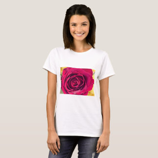 T-shirt Un rose rouge