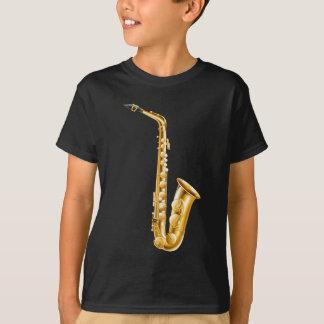 T-shirt Un saxophone d'or