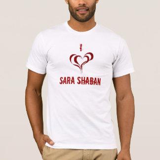 T-shirt Un tir à l'amour sara shaban