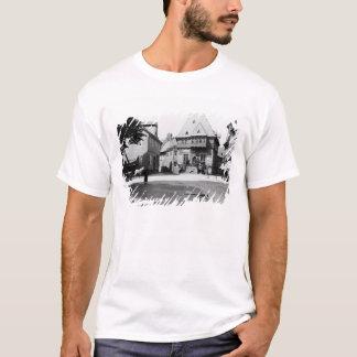 T-shirt Un vieil hôtel dans la place, Goslar, c.1910