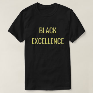 T-shirt Unapologetically noir : Excellence noire