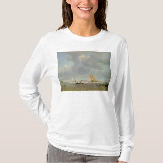 T-shirt Une brise fraîche sur l'Elbe, c.1830