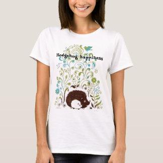 T-shirt une copie fraîche de hérisson, bonheur de hérisson