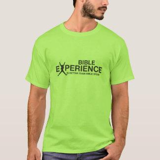 T-SHIRT UNE EXPÉRIENCE DE BIBLE MEILLEURE QUE L'ÉTUDE DE