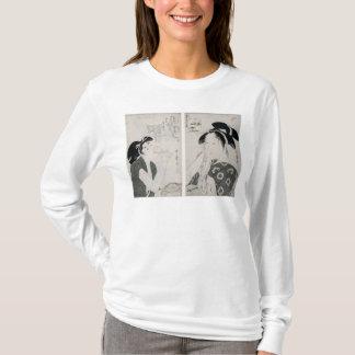 T-shirt Une femme impertinente, oya de Kyokun de série