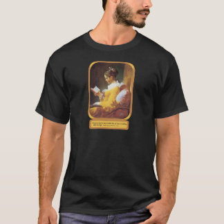T-shirt Une lecture d'heure