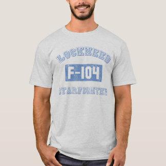 T-shirt Une pièce en t plus droite d'avion de chasse