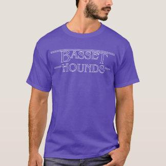 T-shirt Une pièce en t plus étrange de chiens de basset