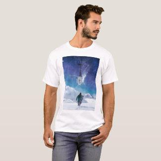 T-shirt Une promenade dans la neige