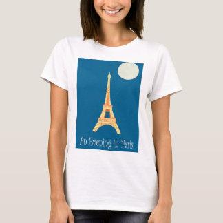 T-shirt Une soirée à Paris