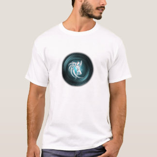 T-shirt unique d'icône de sirène de Scifi de