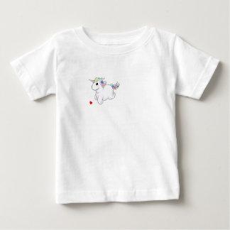 T-shirt unique du Jersey d'amende de bébé de