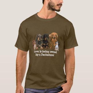 T-shirt unisexe de bande de teckel