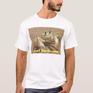 T-shirt unisexe d'Être-Griffes de crabe juste