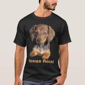 T-shirt unisexe tellement mignon de teckel