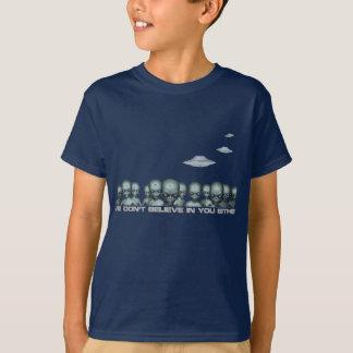 T-shirt Unité étrangère majestueuse d'Interogation de