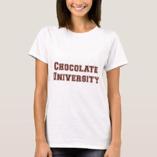 T-shirt Université de chocolat