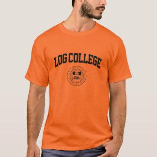 T-shirt Université de rondin (bleue)