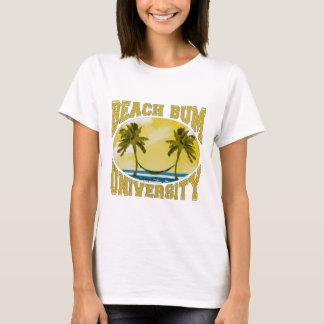 T-shirt Université sans valeur de plage