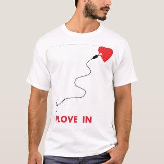 T-shirt usb pour l'amour