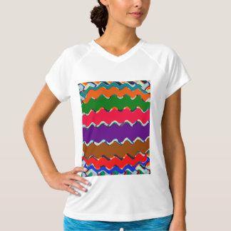 T-shirt V-Cou sec T-Shir de la formation des femmes de