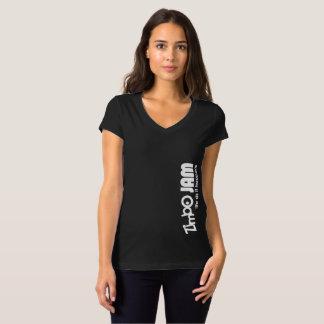 T-shirt V des femmes de confiture de Zimbo - bella de