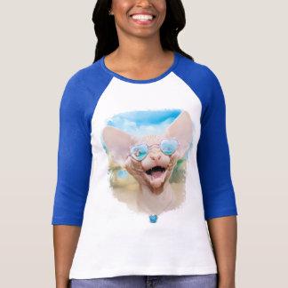 T-shirt Vacances dating  (sphinx dans des lunettes de