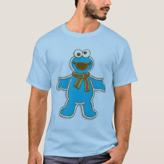 T-shirt Vacances de monstre de biscuit