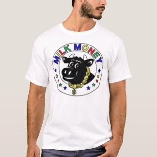 T-shirt vache à couleur