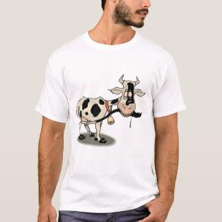 T-shirt Vache noire et blanche mignonne